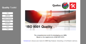 ISO 9001 QMS Quality Management System Toolkit
