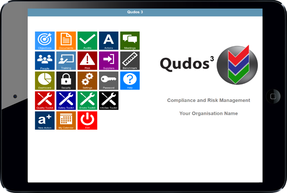 Qudos 3 IMS software interface