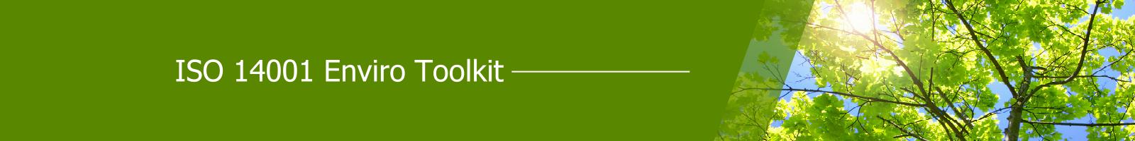 ISO 14001 Enviro Toolkit banner