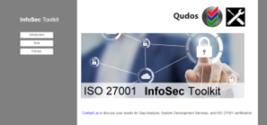 ISO 27001 Information Security Toolkit Cover
